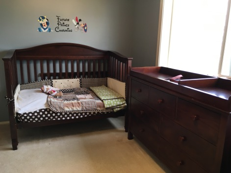 Pottery Barn Toddler Bed and dresser