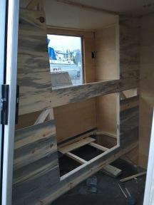 Port Aft bunk beds