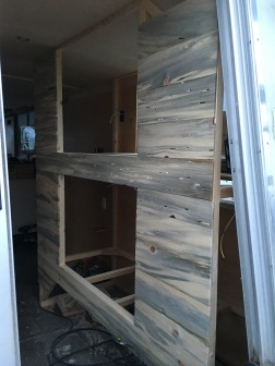 Starboard Aft bunk beds