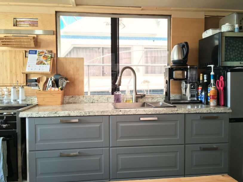 Cruise-a-home galley