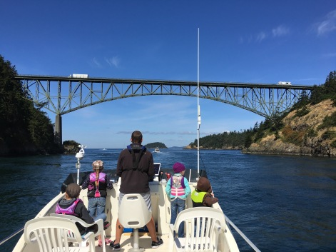 Cruising through Deception Pass