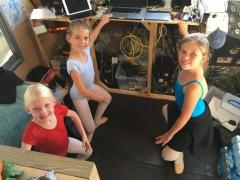 Boat ballet class