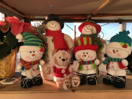 Christmas Snoman Family