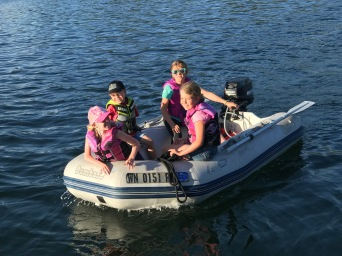 Just playing in the dingy